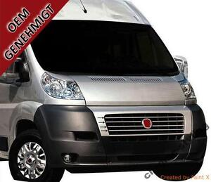 fiat ducato 250 01 16 chrome kit front grille covers 3m. Black Bedroom Furniture Sets. Home Design Ideas