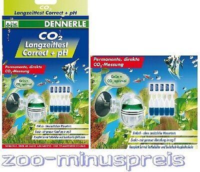 Langzeittest (Co 2 Langzeit Test von Dennerle, Correct + pH, CO2 und pH - Test CO2 Test)