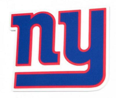 8517b56d New York Giganti XXL Sollievo 3D Effetto Magnet Schiuma Logo NFL Football.  $. 27.11. Buy It Now
