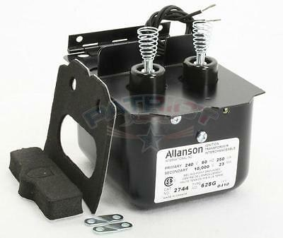 Allanson 2744-628g 240v X 10000v Secondary Transformer For Beckett A Af Afg