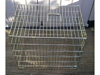 FOLDING CROFT DOG / PET CAGE – L. 21inch, W. 15 inches, H. 18 inches