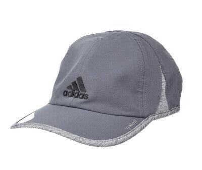 NWT Men's adidas Superlite Cap - Gray - OSFA