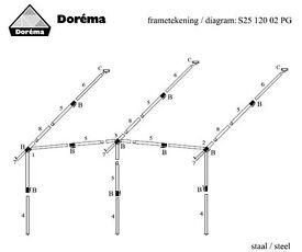 Dorema Steel Frame for Caravan awning