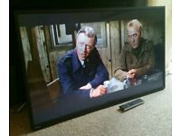 """TOSHIBA 50"""" LED TV FULL HD BUILT IN FREEVIEW EXCELLENT CONDITION REMOTE CONTROL HDMI FULLY WORKING"""