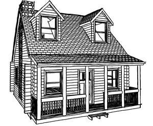 Log Cabin Kits Log Home Kits Shell Package Ebay