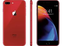 Only 1 Day Old! iPhone 8 64GB red unlocked!