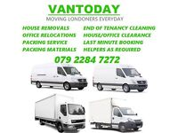 Cheap Man and Van London House Removals, Office Moving, Packing & Storage, Waste Clearance London