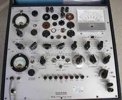 Hickok 539a 539b 539c 752a And Western Electric Tube Tester Calibration Service