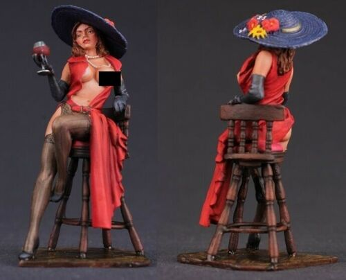 tin toy soldiers  painted Pegaso Girl 80mm Gabrielle