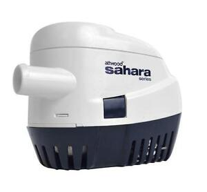 ATTWOOD SAHARA AUTOMATIC MARINE BILGE PUMP FOR BOATS, RV - 1100 GPH 12V - S1100