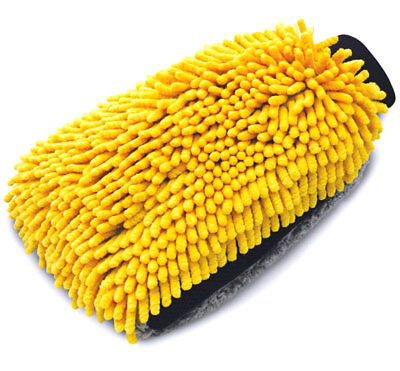 AUTOSPA Microfiber Max Total Clean All-Over Car Body Wash Mitt