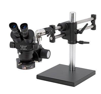 O.c. White Prozoom 4.5 Stereo-zoom Binocular Microscope - Ball Bearing Base