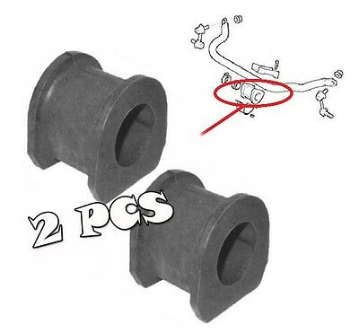 Front Anti Roll Bar Sway Bar Bush Bushings Bushes Hyundai Terracan (2001-2006) Anti Sway Bar Bushings