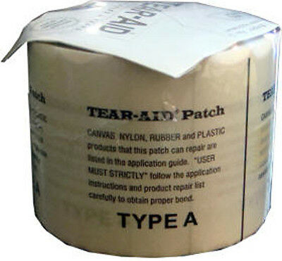 """Tear Aid Type A Bladder Repair Patch 3"""" X 60"""" also 4 waterbeds, rafts, etc. NEW"""