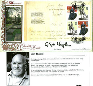 2005-JANE-EYRE-PANE-SIGNED-GLYN-HUGHES-BENHAM-FIRST-DAY-COVER-SHS