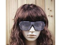 Wholesale-Resellers NEW Diamond Shutter Glasses Shades Sunglasses Birthday Night Club Party