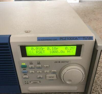 Kikusui Pcz1000a Ac Electronic Load