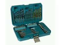 Makita 50 Piece Power Tool Trade Accessory Kit Drill Screwdriver Bits P-90227