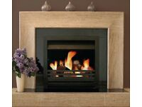 Stove / woodburner - open firebox - Jet master Universal 600 Convector Fire