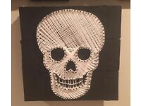 Skull Wall Art ( Can Deliver )