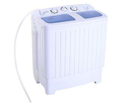 غسالة و مجفف ملابس جديد Apartment Washer and Dryer Combo All In One Size Portable Washing Machine Dorm