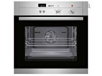 NEFF B12S32N3GB Electric Oven - Stainless Steel - Brand new