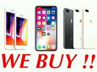 APPLE IPHONE 8 / PLUS X | IPHONE 7 6S SAMSUNG GALAXY NOTE 8 S8 PS4 PRO IPAD MACBOOK AIR (ALL WANTED)