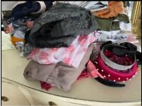 Large binbag full of size 14-16 clothes and accessories