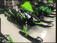 """2018 Arctic Cat ZR 8000 129"""" Limited ES Guelph Ontario Preview"""
