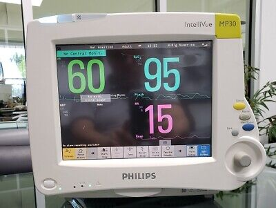Philips Intellivue Mp30 Patient Monitor M8002a With M3001a Module