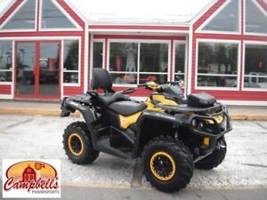 2013 CAN-AM OUTLANDER MAX XTP 2 UP!! HEATED GRIPS!! THUMB WARMER