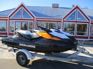2012 SEA-DOO-BRP GTR 215 SUPERCHARGED!! ONLY 96 HOURS!! IBR BRAK