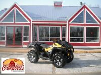 2013 CAN-AM OUTLANDER XMR SILVERBACK TIRES!! HAND GUARDS!! BACK  Moncton New Brunswick Preview