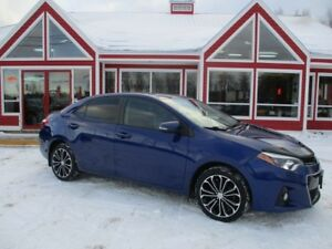 2014 Toyota Corolla S Premium SUNROOF HEATED LEATHER BACK UP CAM