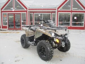 2017 Can-Am OUTLANDER 570 THIS UNIT IS IN MILES!! FRONT AND REAR