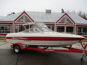 2008 STINGRAY-BOAT-CO 185 LS VOLVO PENTA 3.0L!! ONLY 24 LOW HOUR