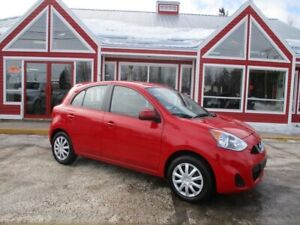 2015 Nissan MICRA SV 4DR HATCHBACK!! AUTOMATIC AIE CRUISE!! PW P
