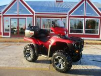 2015 HONDA FOREMAN BACKSEAT WITH STORAGE! FENDER PROTECTORS AND  Moncton New Brunswick Preview