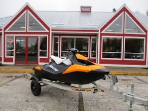 2014 SEA-DOO-BRP SPARK TRAILER NOT INCLUDED!! 2-UP!! ONLY 62 HOU