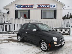 2012 Fiat 500 HEATED LEATHER BLUETOOTH VOICE ASSIST!! CLIMATE CO
