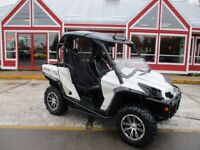 2014 CAN-AM COMMANDER LIMITED HALF WINDSHIELD!! ROOF!! MESH DOOR Moncton New Brunswick Preview