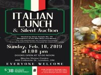 ITALIAN LUNCH AND SILENT AUCTION