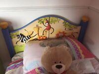Children's furniture set - bed, drawers, wardrobe, sideboard