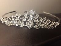 Diamanté and crystal tiara
