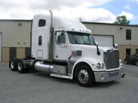 Now HIRING Class 1A Professional Drivers