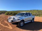 2012 Toyota Hilux 4x4 3.0L SR5 Turbo Diesel 93,000km Silver Scarborough Stirling Area Preview