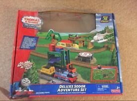 Deluxe Thomas & friends trackmaster set