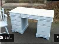 Pine desk/dresser