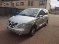 SSANG YONG 2.7 CDI AUTO 7 SEATERS 2007