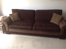 4 and 2 seater sofa for sale